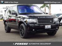 This 2011 Land Rover Range Rover 4dr 4WD 4dr HSE LUX