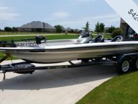 - Stock #78984 - The Evinrude 250 HO outboard gets this