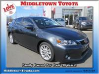 2011 LEXUS CT 200H 4dr Car Our Location is: Middletown