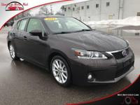 TECHNOLOGY FEATURES:  This Lexus CT 200h Includes
