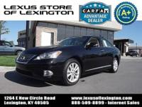 One owner, local trade in, CARFAX Certified! Lexus