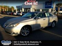 Tungsten Pearl 2011 Lexus ES 350 FWD 6-Speed Automatic
