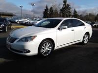Clean CARFAX. Light Gray Leather. 2011 Lexus ES27/19