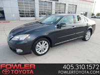 Gasoline! Yeah baby!   This great 2011 Lexus ES is the