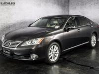 2011 Lexus ES 350. Parchment w/Leather Trimmed Seating