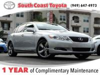 Clean CARFAX. Mercury Metallic 2011 Lexus GS 350 RWD