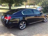 2011 Lexus GS 350, immaculate black exterior and black