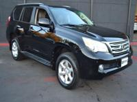 This 2011 Lexus GX Sport Utility features a 4.6L 8
