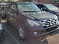 CARFAX One-Owner. Clean CARFAX. Black 2011 Lexus GX 460