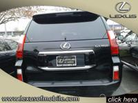 Once you test drive this 2011 Lexus GX 460 you won't