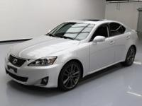 This awesome 2011 Lexus IS comes loaded with the
