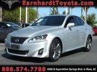We are thrilled to offer you this 2011 Lexus IS250