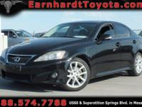 We are pleased to offer you this 2011 Lexus IS250 which