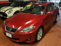 IS 250 trim. Navigation, Heated Leather Seats, iPod/MP3