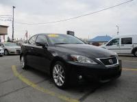 Options:  2011 Lexus Is250 4D Sedan Awd|Black|V6 2.5