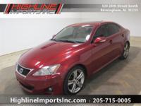 Exterior Color: red, Body: Sedan, Engine: 2.5L V6 24V