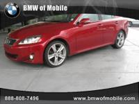 BMW of Mobile presents this 2011 LEXUS IS 250 4DR SPORT