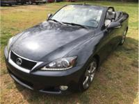 Options:  2011 Lexus Is Is 250C Convertible