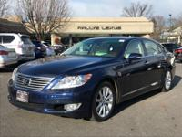 Options:  2011 Lexus Ls 460 L|Deep Sea