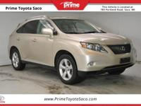 CARFAX One-Owner! 2011 Lexus RX 350 in Satin Cashmere