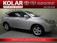 RX 350, AWD, ONE Owner Per AUTO CHECK History Report,