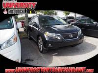 **HAGGLE FREE PRICING** Black 2011 Lexus RX 350AWD,