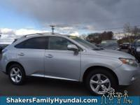 Silver 2011 Lexus RX 350 AWD 6-Speed Automatic with