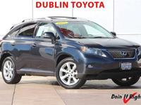 Dublin Toyota is pleased to offer this 2011 Lexus RX.