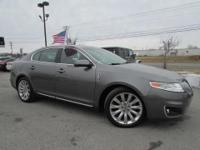 *CarFax 1-Owner* This 2011 Lincoln MKS w/EcoBoost