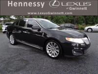 Recent Arrival! 2011 Lincoln MKS Tuxedo Black Metallic