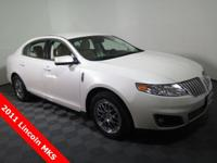 2011 Lincoln MKS Base with a 3.7L V6 Engine. Leather