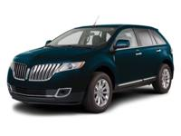 2011 Lincoln MKX Our Location is: AutoNation Ford White