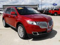 This outstanding example of a 2011 Lincoln MKX is