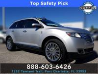 Ingot Silver Metallic 2011 Lincoln MKX SUV AWD 6-Speed