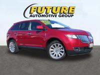 PANORAMA ROOF-HEATED & COOLED LEATHER SEATS!!. MKX