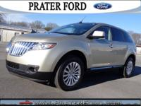 2011 Lincoln MKX SUV Our Location is: Prater Ford Inc -