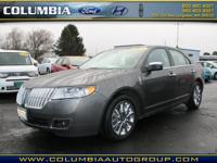 Treat yourself to this 2011 Lincoln MKZ Base, which