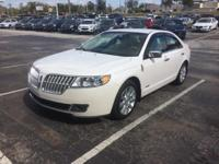This 2011 Lincoln MKZ in White Platinum Metallic