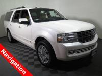 2011 Lincoln Navigator L with a 5.4L V8 Engine. Leather