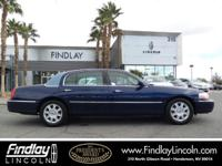 Executive w/Limousine Pkg trim. CARFAX 1-Owner, LOW