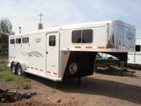 2011 Logan Maverick XLT All Aluminum 3 Horse Slant