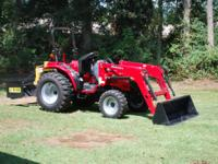 2011 mahindra 3016 4x4 with loader. like brand new with