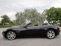 THIS ONE OWNER 2011 MASERATI GRAN TURISMO CONVERTIBLE