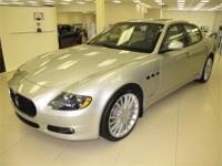 This 2011 Maserati Quattroporte has the following