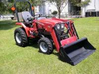 2011 Massey Ferguson 1523 Diesel Tractor, 4 Wheel
