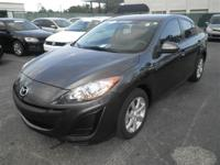 Leather seats. Mazda3 i Touring, Mazda Certified, ABS