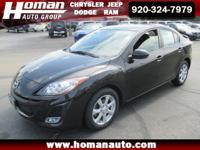 LOW MILES!! This 2011 Mazda 3 is a local one owner