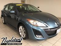 Recent Arrival! 2011 Mazda Mazda3 in Blue, AUX