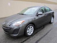 CHECK OUT THIS SUPER SHARP SPACIOUS 4-dr 2011 MAZDA-3