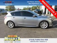 This 2011 Mazda Mazda3 MazdaSpeed3 in Silver is well